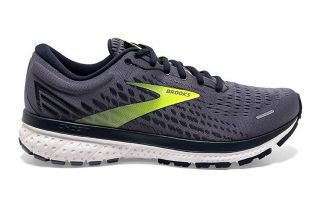 Brooks GHOST 13 GRIS AZUL 1103481D055