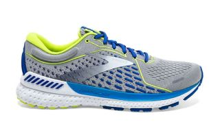 Brooks ADRENALINE GTS 21 GRIS BLANCO 1103491D176