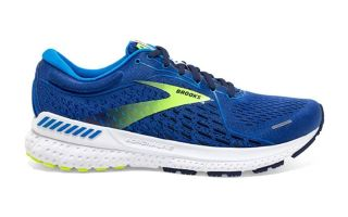 Brooks ADRENALINE GTS 21 BLEU LIME 1103491D441