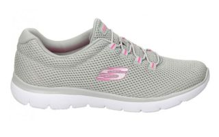 Skechers SUMMITS - QUICK LAPSE GRIS ROSA MUJER 12985GYHP
