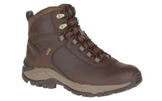 Merrell VEGO MID LEATHER WP MARR�N OSCURO J311539C 201