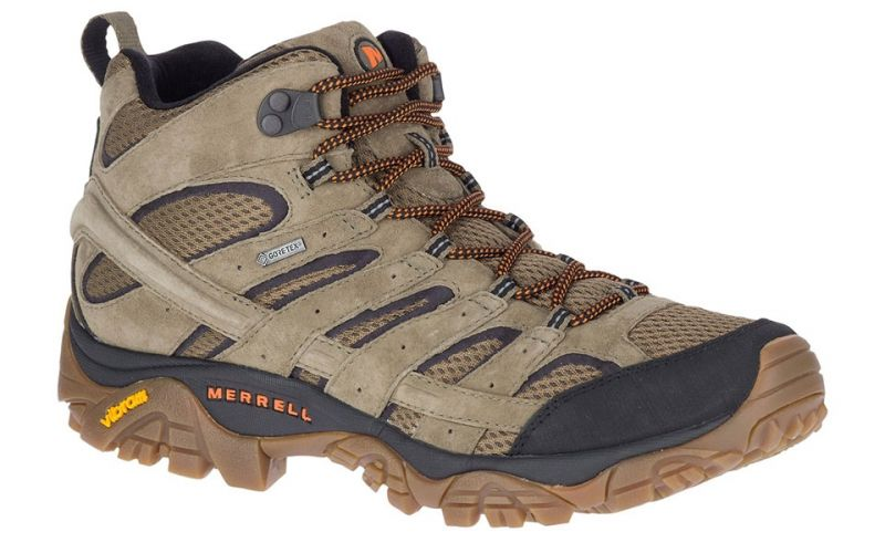 MOAB 2 LEATHER MID GTX OLIVE