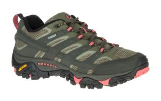 Merrell MOAB 2 GTX GRIS CORAL MUJER J41106 010