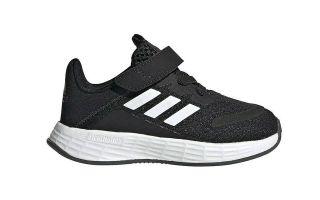 adidas DURAMO SL BLACK WHITE JUNIOR
