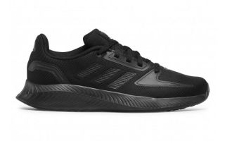 adidas RUNFALCON 2.0 BLACK JUNIOR