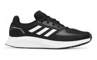 adidas RUNFALCON 2.0 BLACK WHITE JUNIOR