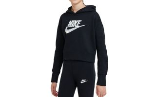 Nike HODDIE BLACK JUNIOR