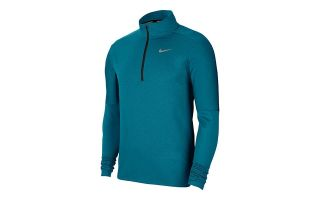 Nike LONG SLEEVE T-SHIRT DRI-FIT BLUE GREEN