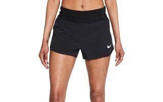 Nike PANTALON CORTO ECLIPSE 2en1 NEGRO MUJER