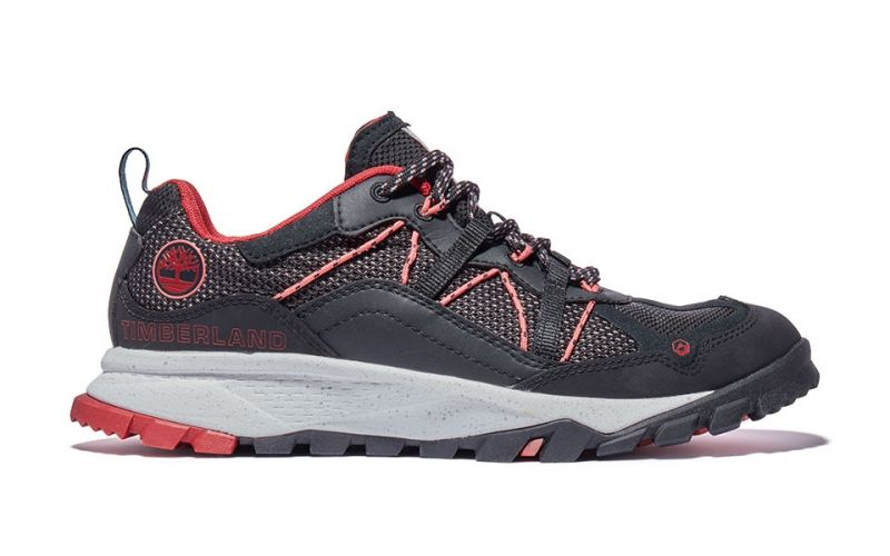 GARRISON TRAIL LOW BLACK RED WOMEN
