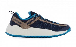 Timberland SOLAR WAVE LOW FABRIC BLUE