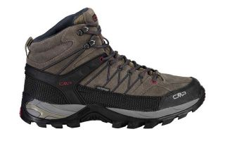 CMP RIGEL MID TREKKING WP BROWN GREY