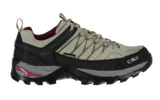 CMP RIGEL LOW TREKKING BEIGE BLACK WOMEN