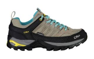 CMP RIGEL LOW TREKKING BEIGE LIME WOMEN
