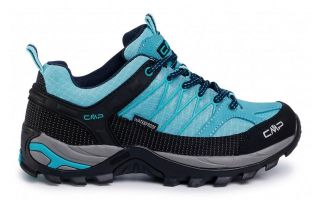 CMP RIGEL LOW TREKKING GREEN TURQUOISE WOMEN