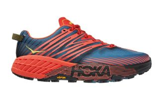 Hoka SPEEDGOAT 4 RED BLUE 1106525 FPBL