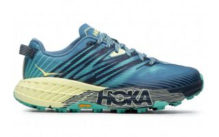 Hoka SPEEDGOAT 4 BLUE GREEN WOMEN 1106527 PBLG