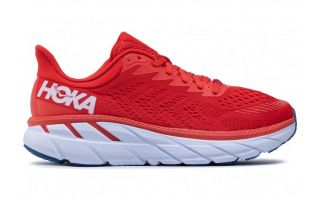 Hoka CLIFTON 7 RED WHITE 1110508 FWT