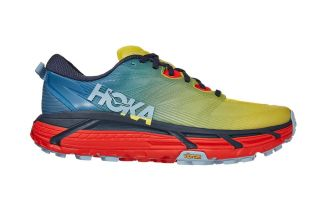 Hoka MAFATE SPEED 3 BLEU LIME 1113530 PBFS