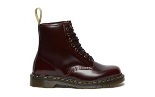 Dr martens BOOTS 1460 8-EYE VEGAN BURGUNDY