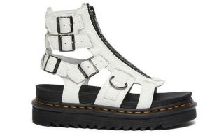 Dr martens SANDALS OLSON WHITE