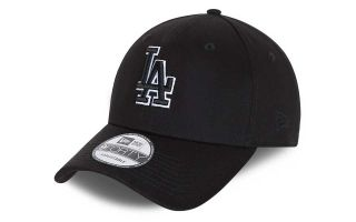 New Era LOS ANGELES DODGERS BASE 9FORTY SNAPBACK SCHWARZ