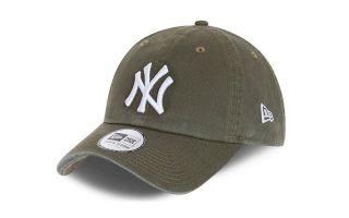 NEW ERA CAP TEAM CASSUAL CLASSIC 9TW. N.Y. YANKEES GREEN