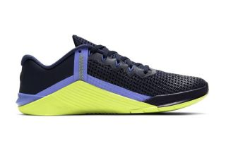 Nike METCON 6 BLUE YELLOW WOMEN AT3160 400