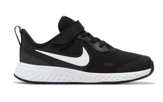 Nike REVOLUTION 5 NERO BIANCO JUNIOR BQ5672 003