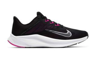 Nike QUEST 3 NEGRO BLANCO GRIS MUJER CD0232 002