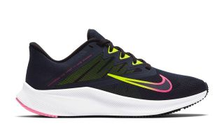 NIKE QUEST 3 AZUL NEGRO MUJER CD0232 401