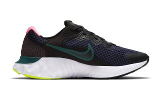 Nike RENEW RUN 2 BLACK NAVY BLUE WOMEN CU3505 004