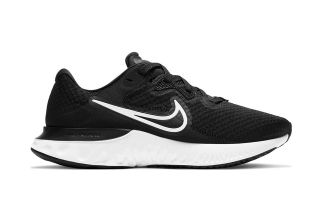 Nike RENEW RUN 2 BLACK WHITE WOMEN CU3505 005