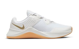 Nike MC TRAINER BIANCO DORATO DONNA