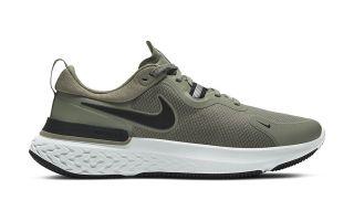 Nike REACT MILER GR�N SCHWARZ CW1777 300