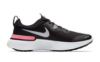 Nike REACT MILER NEGRO GRIS MUJER CW1778 012