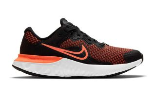 Nike RENEW RUN 2 NERO ARANCIONE JUNIOR CW3259 004