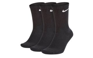 <center><b>Nike</b><br > <em>CALCETINES NIKE VALUE CREW NEGRO SX4508 001</em>