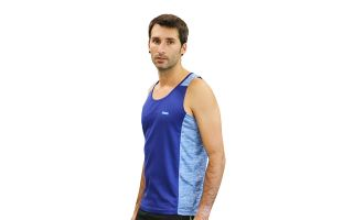 <center><b>Runaway Jim</b><br > <em>BLUE BOOM TANK TOP</em>