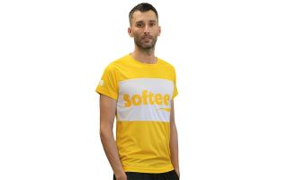 Softee T-SHIRT SPIN GIALLO