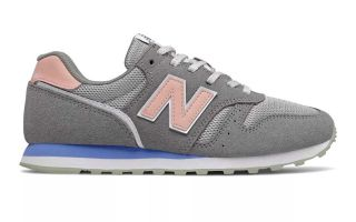 New Balance CLASSIC 373V2 GRIS ROSA MUJER WL373CO2
