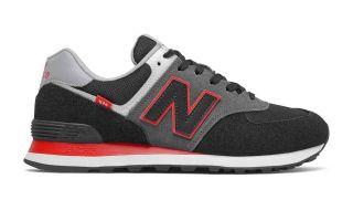 New Balance CLASSIC 574 V2 BLACK RED