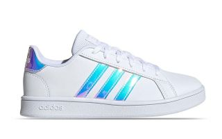 adidas GRAND COURT BLANCO AZUL JUNIOR FW1274
