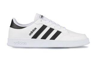 adidas BREAKNET WHITE BLACK