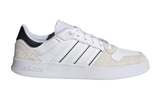 adidas BREAKNET PLUS WHITE BLACK