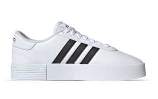 adidas COURT BOLD WHITE BLACK FOR WOMEN