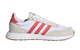 adidas RUN 60s 2.0 WHITE RED WOMEN