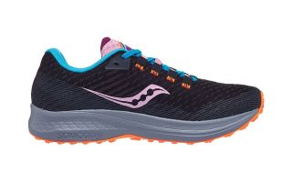 Saucony CANYON TR BLACK PURPLE WOMEN