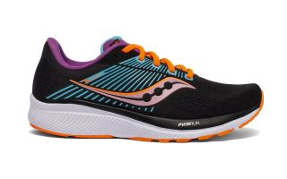 Saucony GUIDE 14 BLACK NEON WOMEN