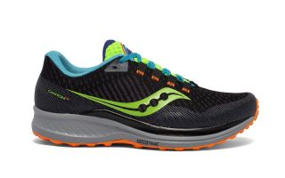 Saucony CANYON TR BLACK GREEN